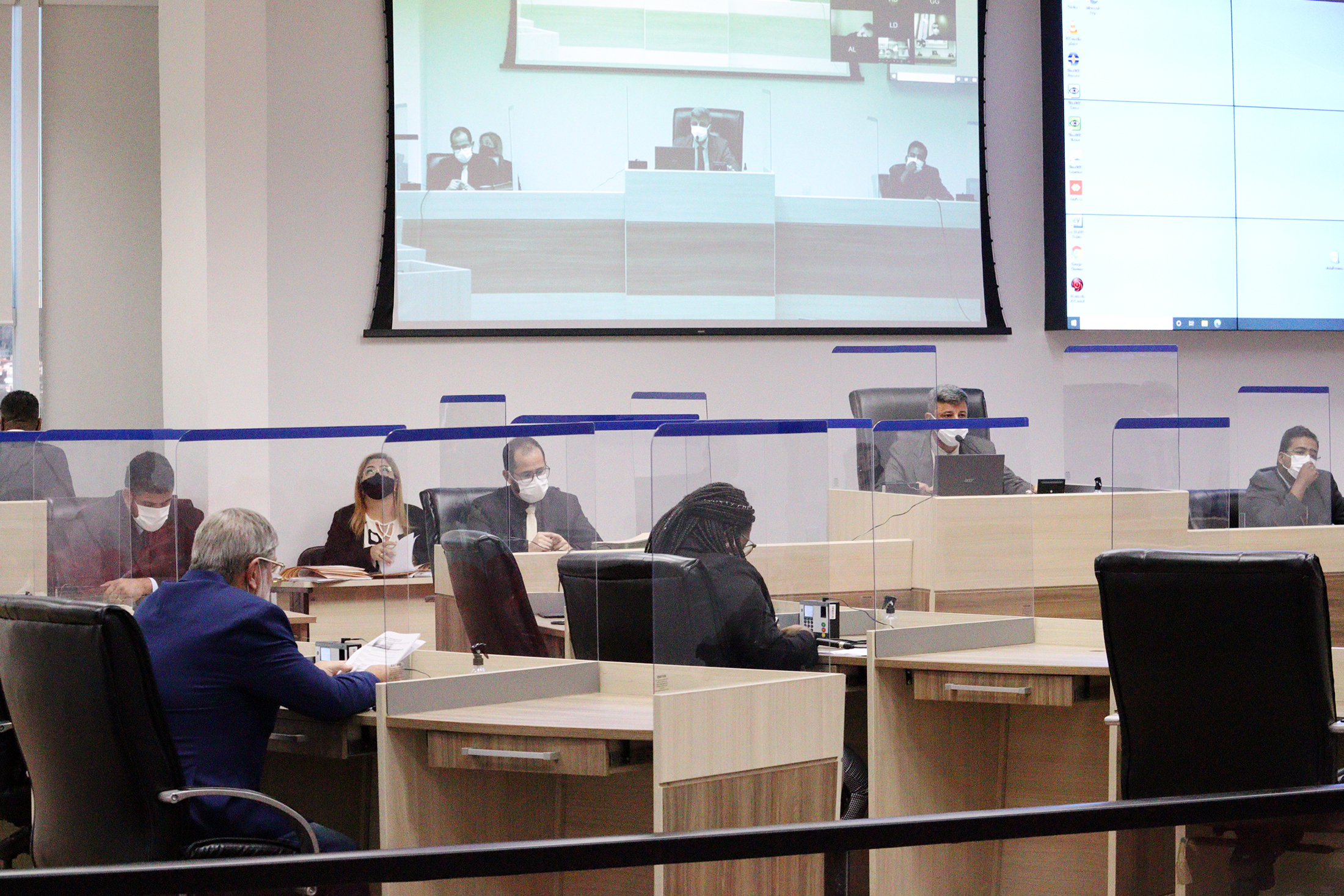 Câmara amplia protocolos de segurança contra a Covid-19