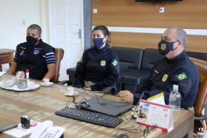 Secretário, durante reunião com forças de segurança, destacou a importância do diálogo para continuidade das ações