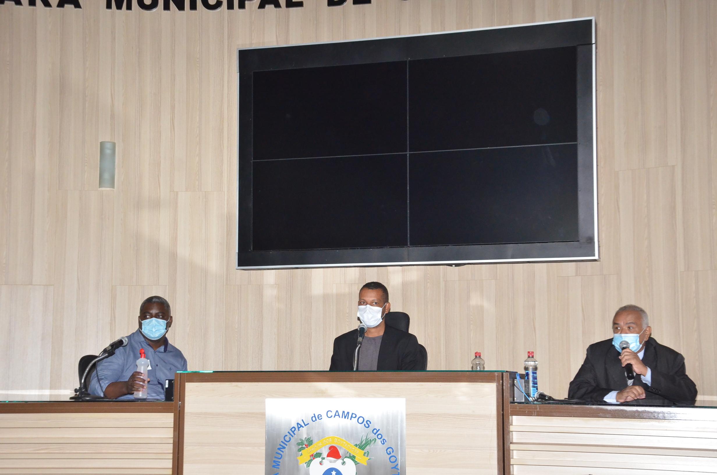 O projeto foi apresentado durante audiência pública, realizada nesta semana, na Câmara Municipal de Campos dos Goytacazes