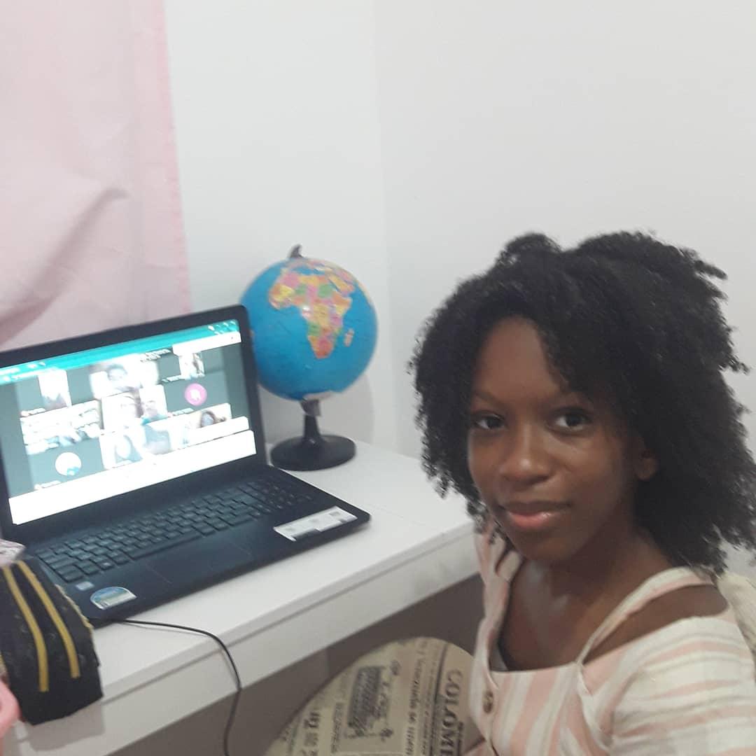 Talita Costa Pereira, de 11 anos, foi uma das finalistas do prêmio e ficou em primeiro lugar na categoria de 10 a 13 anos