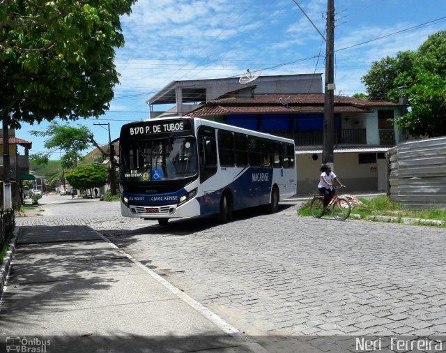 Segundo a empresa Macaense, muitas ações foram realizadas no serviço de transporte no município