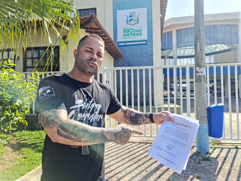 Deputado esteve em Rio das Ostras em maio deste ano, afirmando que encontrou irregularidades na cidade