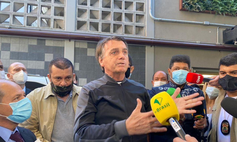 O presidente já retornou para Brasília.