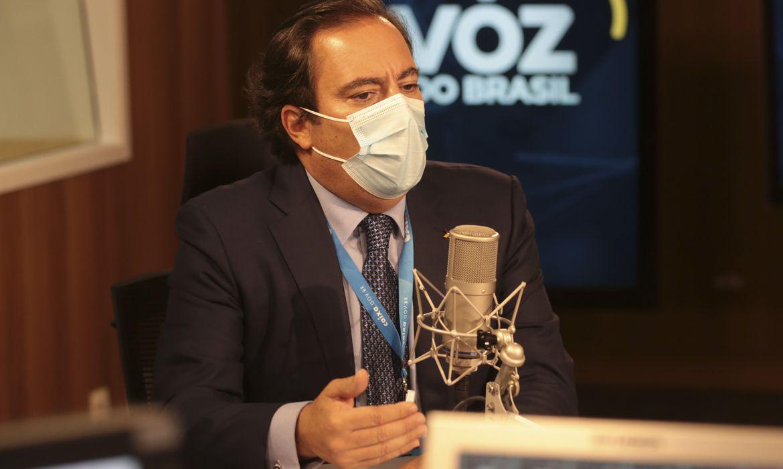 Pedro Guimarães participou do A Voz do Brasil