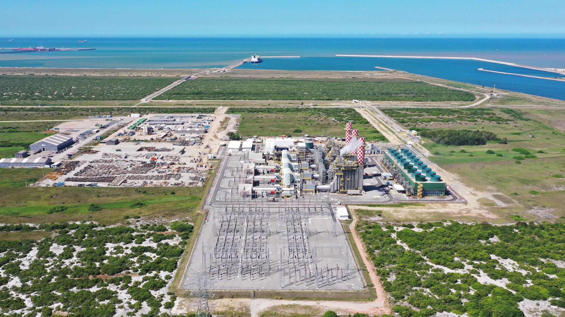 Usina é parte do maior parque de geração a gás natural da América Latina