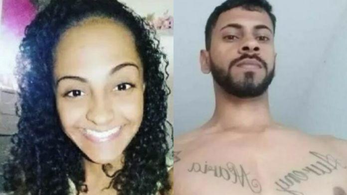Thalice eThalice e o assassino Felipe, que está preso na 122 Delegacia de Polícia de Conceição de Macabu o assassino Felipe, que está preso em Conceição de Macabu