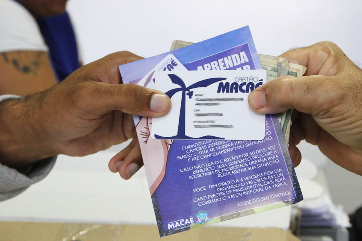 A prefeitura garante este benefício a quem mora em Macaé