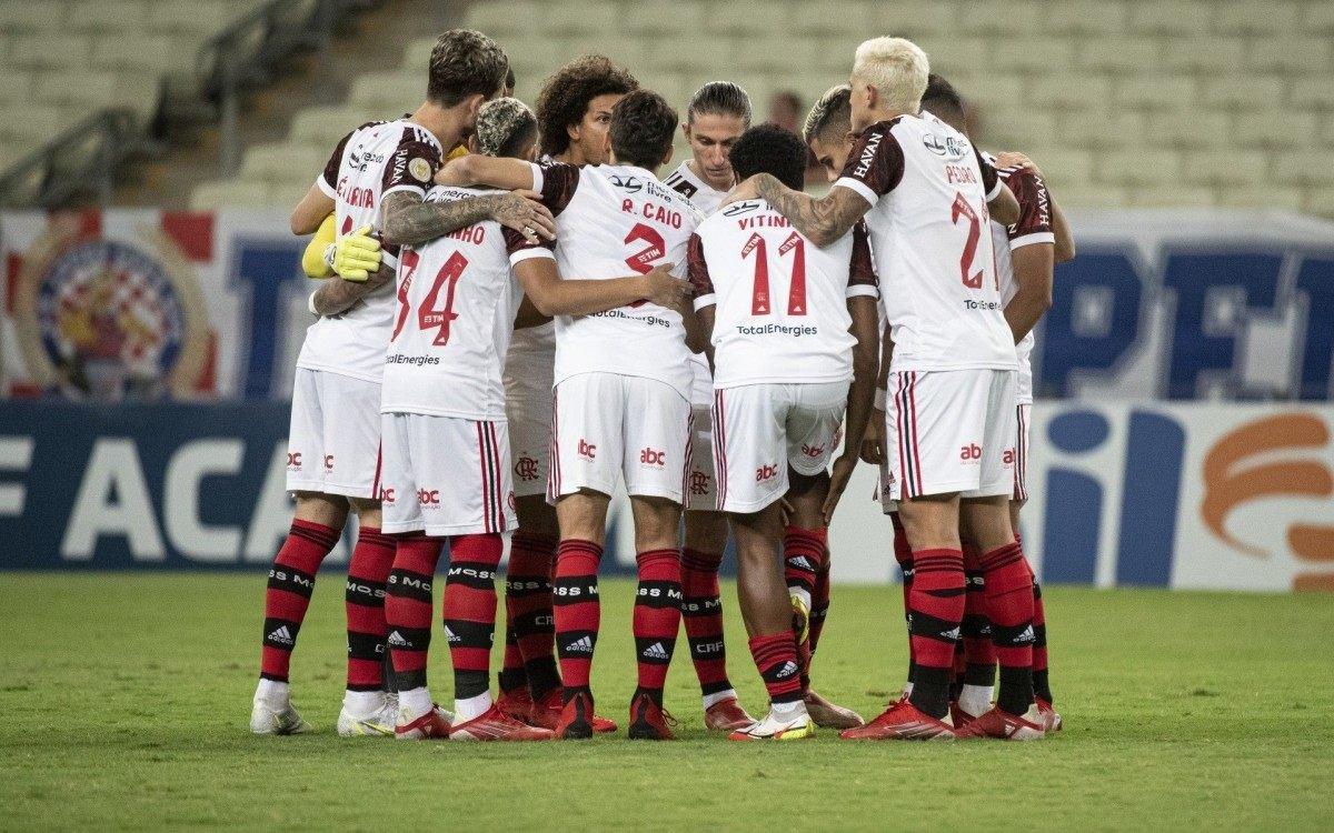 Flamengo mantém diferença de 11 pontos para o líder Atlético-MG
