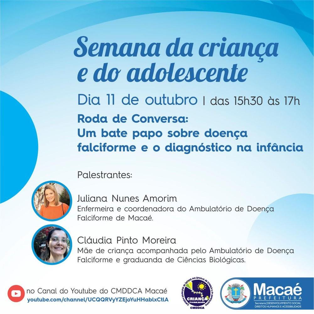 O evento está sendo realizado pela internet com a participação de palestrantes