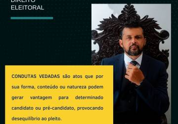 REPRESENTAÇÃO POR CONDUTAS VEDADAS AOS AGENTES PÚBLICOS.